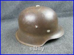 WW2 German Helmet M42 World War II Relic from France