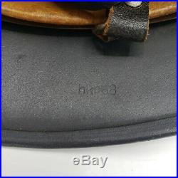 WW2 German Helmet Original 68 Shell LW Feldblau HKP68 61 Liner Chinstrap Decal