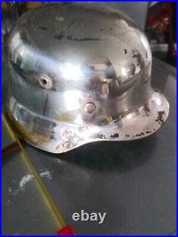 WW2 German Helmet Q64 4721 Military History