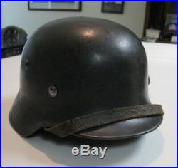 WW2 German Helmet Stahlhelm Hermann Goring Div Luftwaffe SE64
