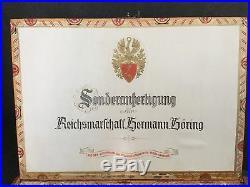 WW2 German Hitler Hermann Goring Cigar Box Obersalzberg Berghof Helmet Eva Braun