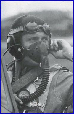 WW2 German LKpN101 Netzkopfhaube Pilot Flight Helmet Ln. 26670 NICE