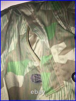 WW2 German Long Camo Coat