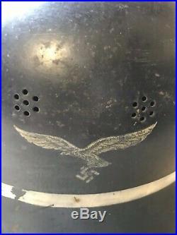 WW2 German Luftwaffe Fire Brigade helmet