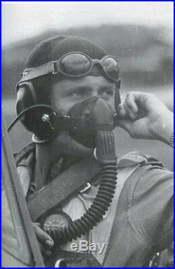 WW2 German Luftwaffe LKpN101 Netzkopfhaube SUMMER PILOT FLIGHT HELMET NICE