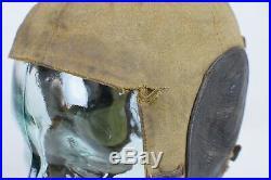 WW2 German Luftwaffe Summer Cloth Flight Helmet LKp S 101 MFG Hersteller