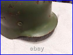 WW2 German M35 Combat Helmet Stahlelm