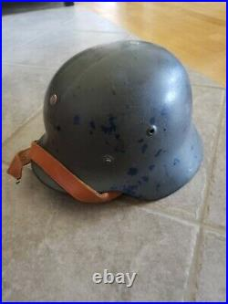 WW2 German M35 Danish Reissue Helmet