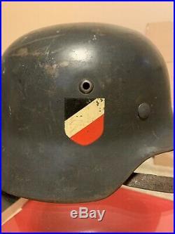 WW2 German M35 Helmet
