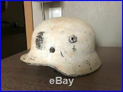 WW2 German M35 Helmet, Authentic, Size 62, MSRP $700