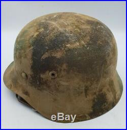 WW2 German M40 Normandy Camouflage Steel Helmet High Quality Reproduction