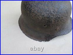 WW2 German M42 HELMET. (Stahlhelm M42) with Helmet Liner