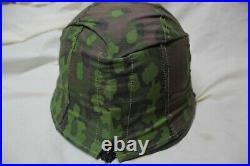 WW2 German Military Helmet WWII Army Helmet Steel Pot with Cover and Liner