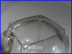 WW2 German Military Presentation Glass Beer Stein Helmet Inscribed RARE WWII
