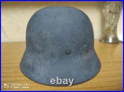 WW2 German Original Helmet WOW Luftwaffe