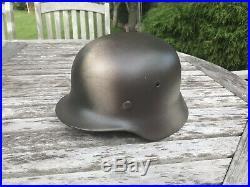WW2 German Original M40 Helmet Size 66 (READ DESCRIPTION)