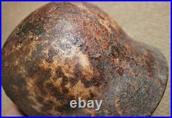 WW2 German Original M40 Medic Helmet Semi Relic Rare find