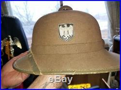 WW2 German Pith Helmet 2nd Model