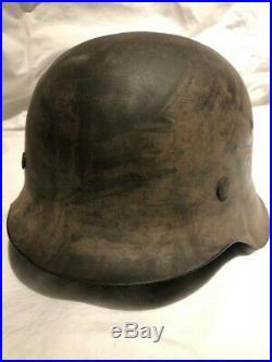 WW2 German helmet Camouflage Luftwaffe M42