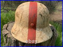 WW2 German helmet M35 60/53 medic
