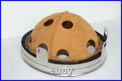 WW2 German helmet M38 paratrooper. Leather liner. All size