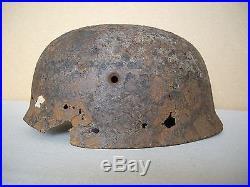 WW2 German helmet M38 paratrooper  Original relic