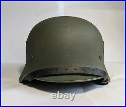 WW2 German helmet Stahlhelm M 40 66 with liner
