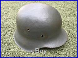 WW2 German restored helmet M42. Size 66