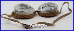 WW2 German snow goggle cap mountain troop M43 hat WWI helmet Wehrmacht Heer Army