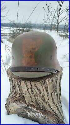 WW2 M35 German Helmet WWII M 35. Combat helmet