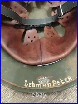 WW2 M35 German Helmet WWII M 35 Combat helmet size 64