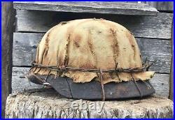 WW2 M40 German Helmet WWII Original Combat helmet