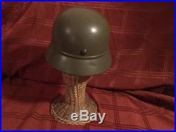 WW2 M40 German Steel Helmet