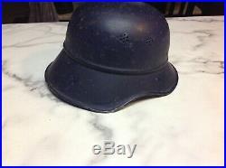WW2 Original German Gladiator helmet