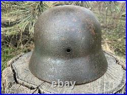 WW2 Original German helmet M35/64