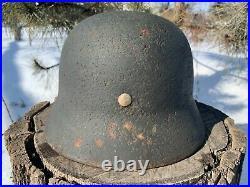 WW2 Original German helmet M35 64/56