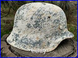 WW2 Original German helmet M42 66