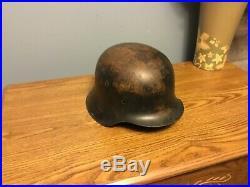 WW2 Original German helmet M42 size hkp64
