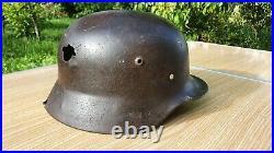 WW2 WWII German Helmet M35