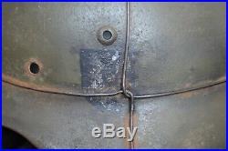 WW2 WWII German Helmet M35 SE66 Original, signs