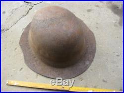 WW2 WWII German Wehrmacht helmet. Factory defective