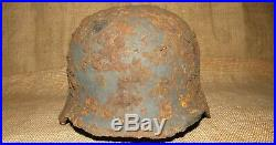WW2 WWII Original-Authentic-Relic German helmet Wehrmacht #1