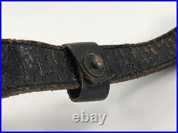 WW2 chin strap of the German M38 helmet paratrooper