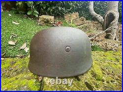 WW2 german paratroop helmet wk2 stahlhelm elmetto tedesco