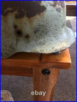 WW2 original German Helmet shell display piece