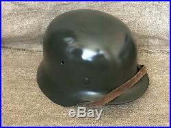 WW2 original German helmet M40 with liner