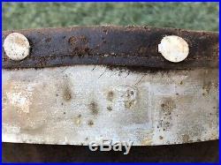 WW2 original German helmet leather and aluminum liner. 1939. Size 68/60