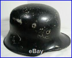 WWII Antique German Helmet. WW2 Used