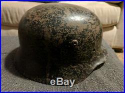 WWII GERMAN HELMET M40 SIZE 66, Q66 / Quist 66 WW2 STAHLHELM