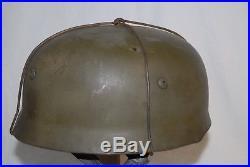 WWII WW2 German paratrooper helmet fallschirmjäger stahlhelm airborne
